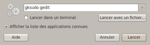 u00c9diter un fichier en mode administrateur sur ubuntu